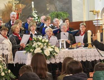 """Crkveni pjevački zbor """"Ivan Krstitelj"""" iz Sv. Ivana Zeline pjevao u našoj crkvi"""