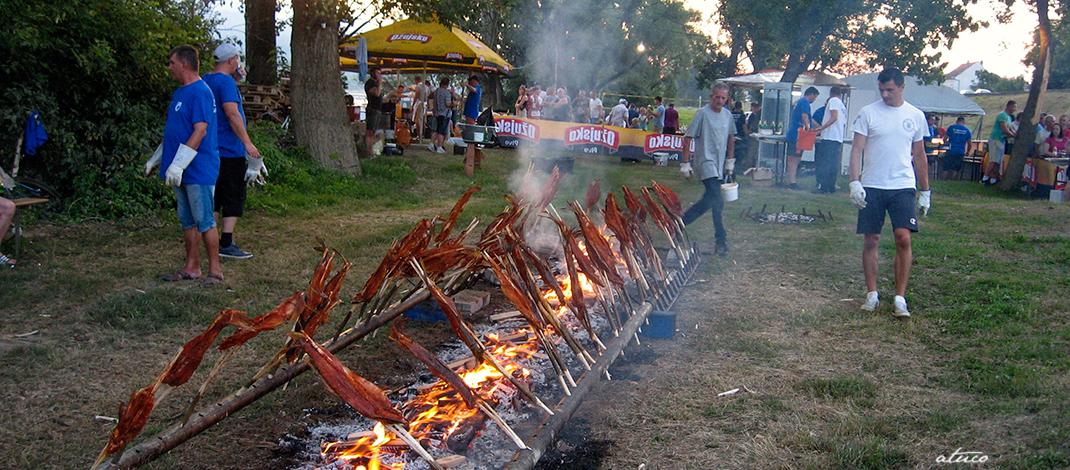 Ribarska večer pod bajerom na Savi