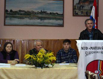 52. godišnja skupština KUD-a Matija Gubec  – Slavonski Kobaš